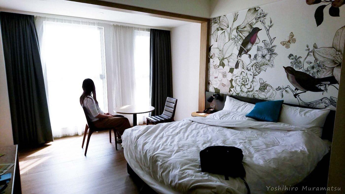 ホテル(Just Sleep Kaohsiung Station)の部屋の雰囲気