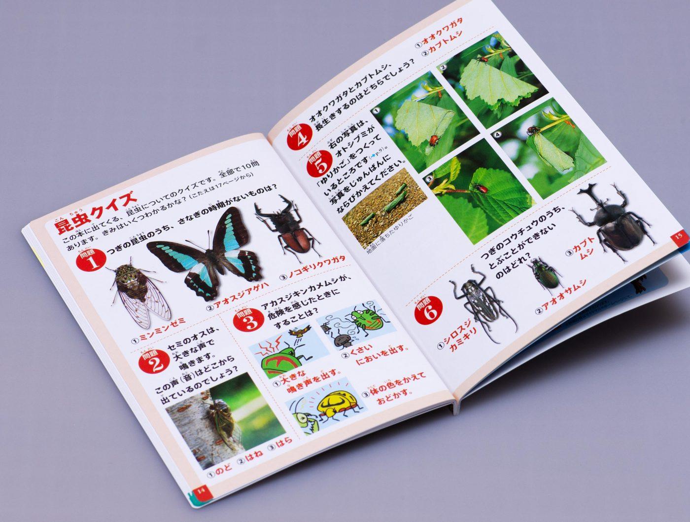 マクドナルドのハッピーセット「昆虫図鑑」