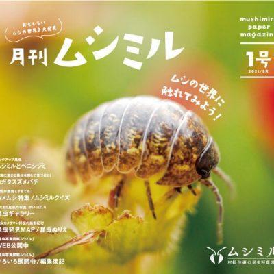 月刊ムシミル1号アイキャッチ画像
