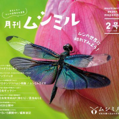 月刊ムシミル2号アイキャッチ画像
